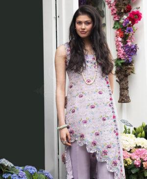 lilac angrakha shirt